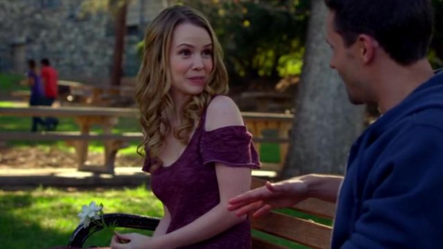 Free People Tiny Dancer Cold Shoulder Skater Dress outfit worn by Abbie Cobb in Criminal Minds (S10E06) - TV Show Outfits and Products