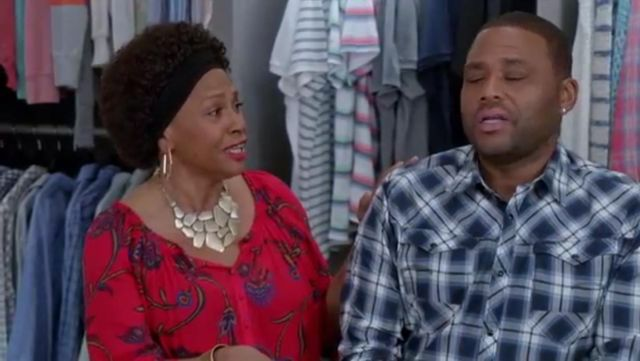 G Star Raw Arc 3d Shirt In Thermen outfit worn by Andre 'Dre' Johnson (Anthony Anderson) in black-ish (Season01 Episode16) - TV Show Outfits and Products