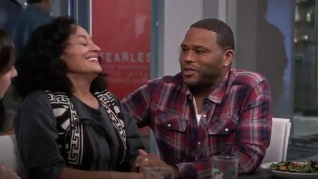 G Star Raw Landoh Longsleeve Button Up Shirt outfit worn by Andre 'Dre' Johnson (Anthony Anderson) in black-ish (S02E10) - TV Show Outfits and Products
