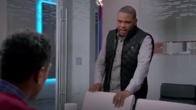 G Star Raw Meefic Quilted Vest outfit worn by Andre 'Dre' Johnson (Anthony Anderson) in black-ish (Season01 Episode15) - TV Show Outfits and Products