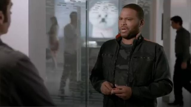 G Star Raw Nw Arc Zip Raw Denim Jacket outfit worn by Andre 'Dre' Johnson (Anthony Anderson) in black-ish (Season01 Episode06) - TV Show Outfits and Products