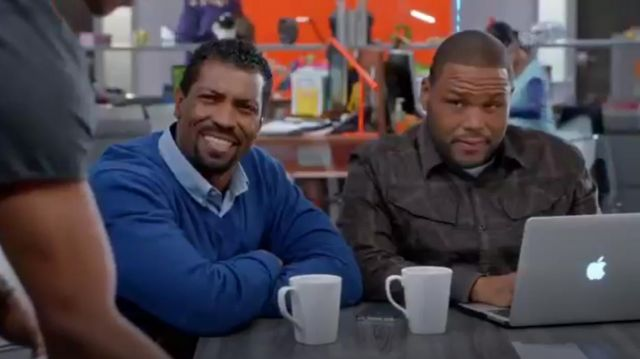 G Star Raw Rackler Longsleeve Shirt outfit worn by Andre 'Dre' Johnson (Anthony Anderson) in black-ish (Season01 Episode17) - TV Show Outfits and Products