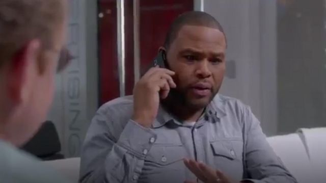 G Star Raw Tacoma Shirt outfit worn by Andre 'Dre' Johnson (Anthony Anderson) in black-ish (Season01 Episode15) - TV Show Outfits and Products