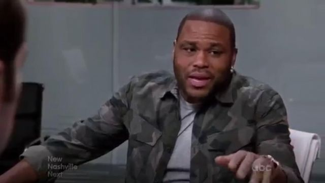 G Star Rovic Long Sleeve Shirt outfit worn by Andre 'Dre' Johnson (Anthony Anderson) in black-ish (Season01 Episode21) - TV Show Outfits and Products