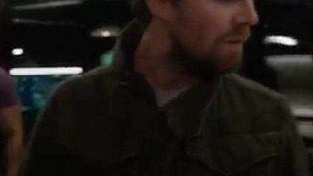 G-star Jacket outfit worn by Oliver Queen (Stephen Amell) in Arrow Season 08 Episode 04 - TV Show Outfits and Products
