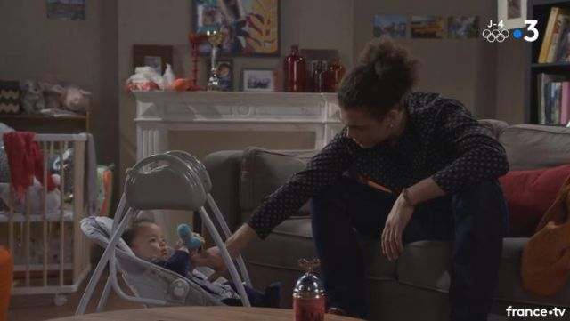 Fashion Trends 2021: Glider with ark games Babyswing Mathis the son of Emma and john in the Most beautiful life S14E3466