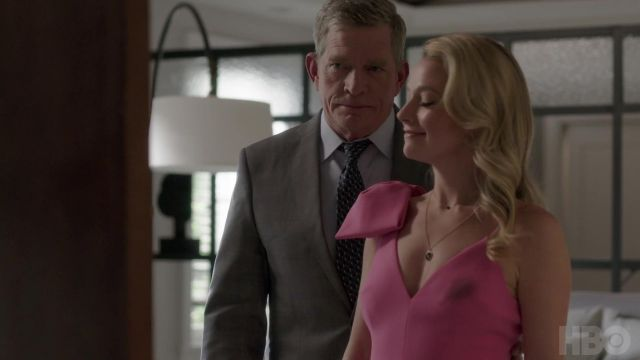 Gray blazer jacket outfit worn by Robert (Thomas Haden Church) as seen in Divorce (Season 03) - TV Show Outfits and Products