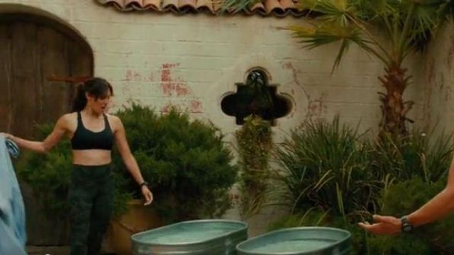 Green Camo Print Leggings outfit worn by Kensi Blye (Daniela Ruah) in NCIS: Los Angeles Season 11 Episode 02 - TV Show Outfits and Products