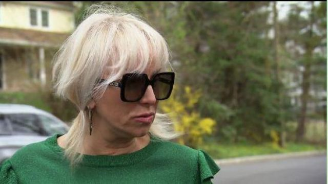 Gucci Black Square Sunglasses outfit worn by Margaret Josephs in The Real Housewives of New Jersey Season 10 Episode 02 - TV Show Outfits and Products