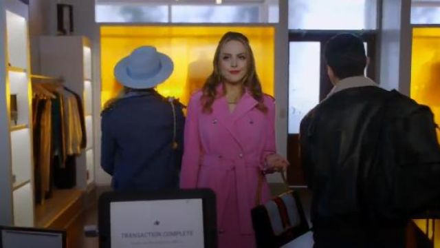 Gucci GG Marmont Medium Web Heart Shoulder Bag outfit seen on Fallon Carrington (Elizabeth Gillies) in Dynasty (S01E18) - TV Show Outfits and Products