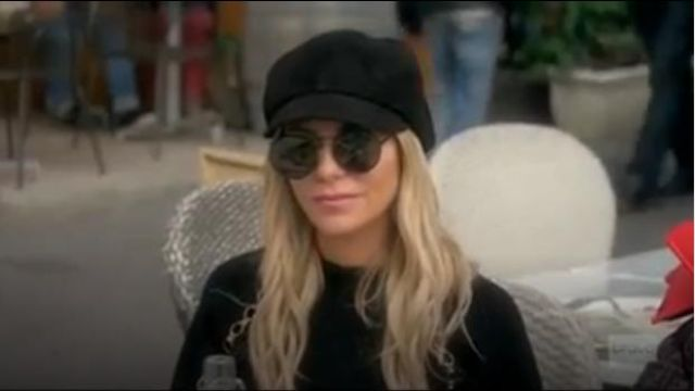 Gucci Trip Lug Sole Combat Boot outfit worn by Dorit Kemsley in The Real Housewives of Beverly Hills (Season09 Episode18) - TV Show Outfits and Products