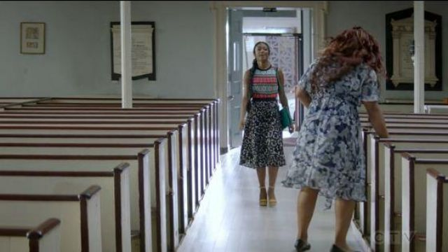 H&M Black Pleated Skirt outfit worn by Ali Finer (Javicia Leslie) in God Friended Me Season 2 Episode 7 - TV Show Outfits and Products