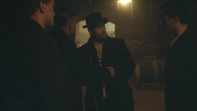 Hat Worn by Alfie Solomons (Tom Hardy) as seen in Peaky Blinders S02E05 - TV Show Outfits and Products