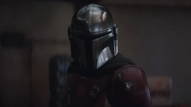 Helmet outfit worn by The Mandalorian (Pedro Pascal) as seen in The Mandalorian (Season 1) - TV Show Outfits and Products