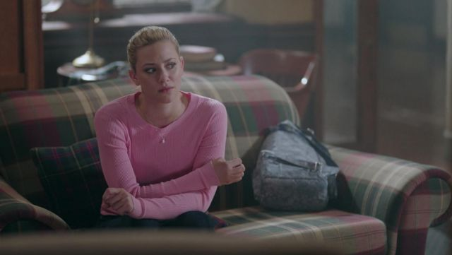 Herschel backpack from Betty Cooper (Lili Reinhart) seen in Riverdale Season 2 Episode 3 - TV Show Outfits and Products