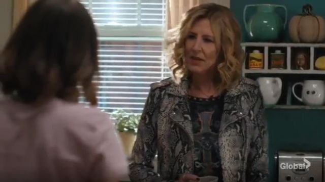 Iro Ashville Jacket outfit worn by Sheryl Luria (Christine Lahti) in Evil Season 01 Episode 06 - TV Show Outfits and Products
