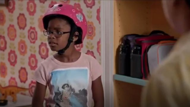 J.Crew Crewcuts Girls Olive Taj Mahal T shirt outfit worn by Diane Johnson (Marsai Martin) in black-ish (S02E07) - TV Show Outfits and Products