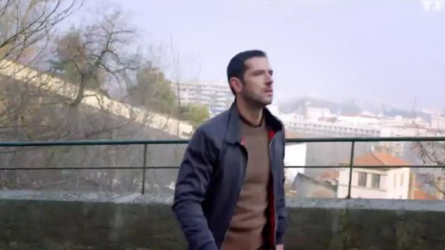 Jacket Harrington Paul Browski (Melvil Poupaud) seen in above suspicion Season 1 Episode 3 - TV Show Outfits and Products
