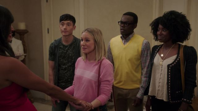 Jacket Isabel Marant Étoile range by Simone Garnett (Kirby Howell-Baptiste) seen in The Good Place Season 3 Episode 3 - TV Show Outfits and Products