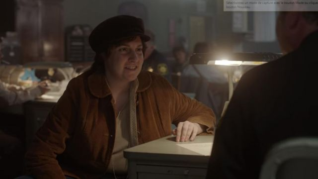 Jacket of Valerie Solanas (Lena Dunham) seen in American Horror Story (Season 7 Episode 7) - TV Show Outfits and Products