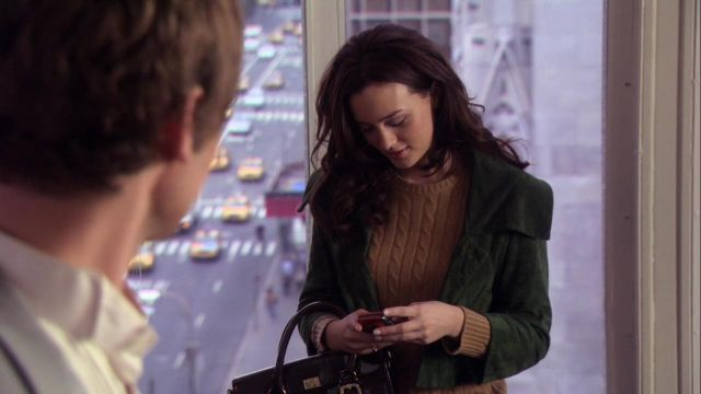 Fashion Trends 2021: Jacket outfit worn by Blair Waldorf (Leighton Meester) seen in Gossip Girl Season 1E10