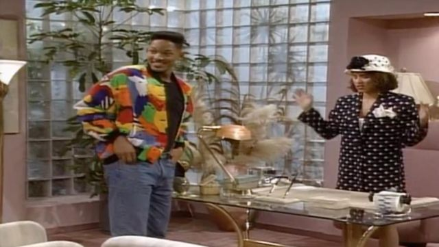 Fashion Trends 2021: Jacket printed 90s Will Smith in Prince of Bel Air Season 1E25