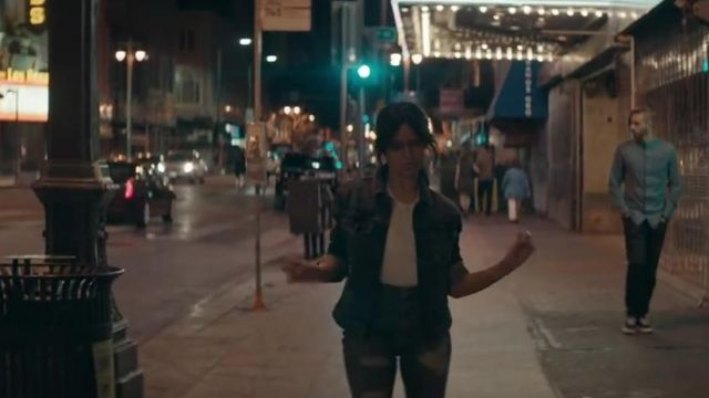 Jean jacket GUESS of Camila Cabello in the clip, Havana - Youtube Outfits and Products