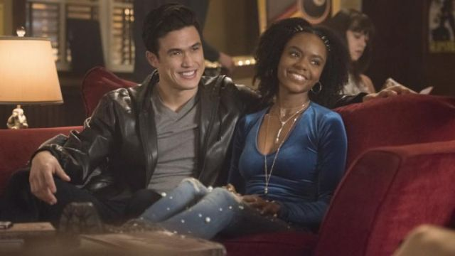 John Guess to beads Josie McCoy (Ashleigh Murray) seen in Riverdale (Season 2E22) - TV Show Outfits and Products