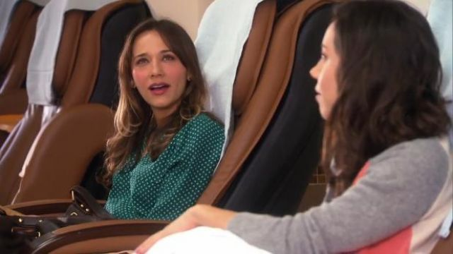 Joie Marlo blouse outfit worn by Ann Perkins (Rashida Jones) in Parks and Recreation (S05E16) - TV Show Outfits and Products