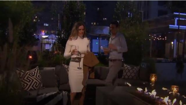 Jonathan Simkhai Cutout Cropped Sweater outfit worn by JoJo Fletcher in The Bachelorette (S12E02) - TV Show Outfits and Products