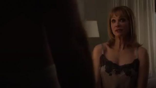 Josie Natori Lolita Chemise outfit worn by Lynn Harper (Lauren Holly) in Designated Survivor (Season 03 Episode 05) - TV Show Outfits and Products
