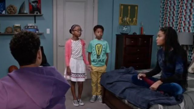 Junk Food Clothing Genius Monopoly Pullover Sweatshirt outfit worn by Jack Johnson (Miles Brown) in black-ish (S02E13) - TV Show Outfits and Products