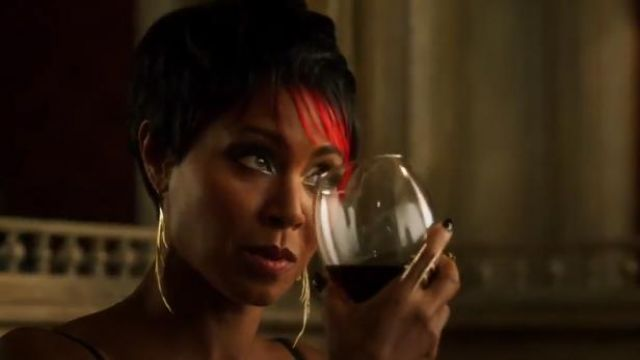 K/LLER Parallel Quill Ring outfit worn by Fish Mooney (Jada Pinkett Smith) in Gotham (S01E02) - TV Show Outfits and Products