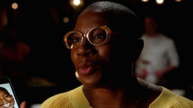 Krewe Laurel Toffee eyeglasses outfit worn by Henrietta 'Hen' Wilson (Aisha Hinds) in 9-1-1 (S03) - TV Show Outfits and Products