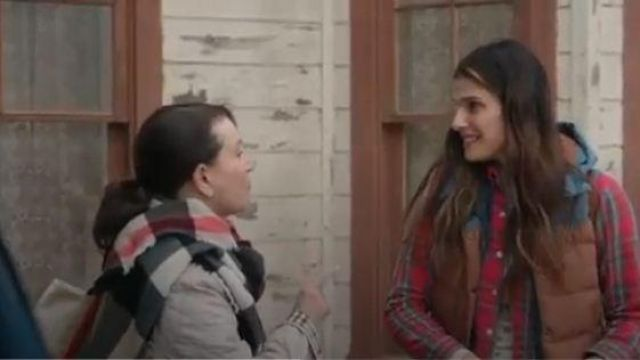 L.L.Bean Red Plaid Shirt outfit worn by Rio (Lake Bell) in Bless This Mess Season 02 Episode 06 - TV Show Outfits and Products