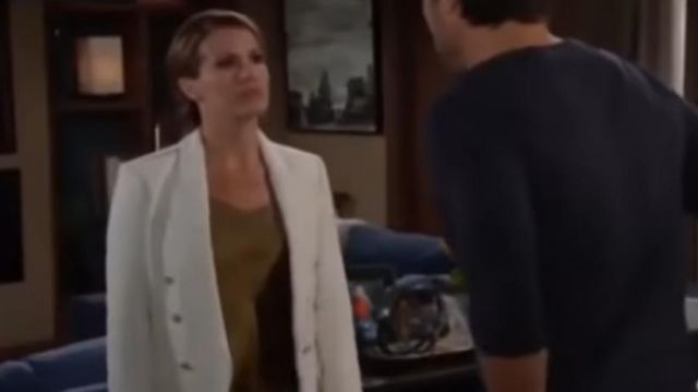 L'Agence kenzie tweed jacket outfit worn by Chelsea Lawson (Melissa Claire Egan) on The Young and the Restless October 2, 2019 - TV Show Outfits and Products