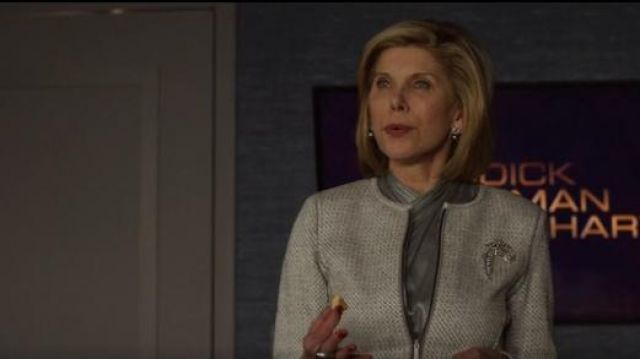 Lafayette 148 Kerrington Jacket outfit worn by Diane Lockhart (Christine Baranski) in The Good Fight (S03E10) - TV Show Outfits and Products