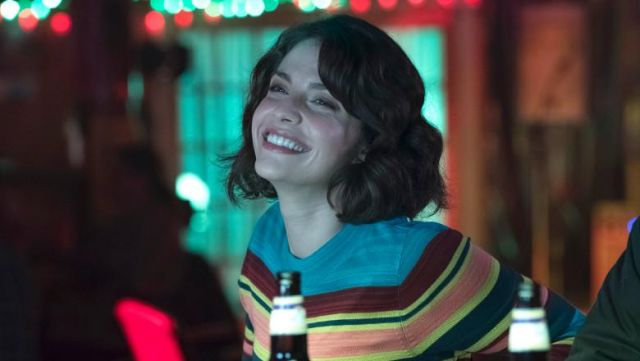 Fashion Trends 2021: Lea Dilallo's (Paige Spara) striped top as seen in Good Doctor S01E11