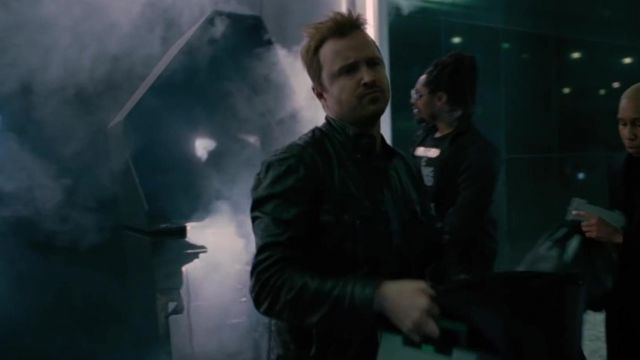 Leather Jacket outfit worn by Aaron Paul in Westworld (S03) - TV Show Outfits and Products