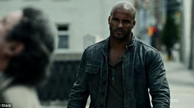 Fashion Trends 2021: Leather jacket of Shadow Moon (Ricky Whittle) seen in American Gods Season 1 Episode 2