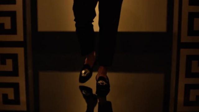 Loafers Versace of Bruno Mars in the video Versace On The Floor Bruno Mars & David Guetta - Youtube Outfits and Products