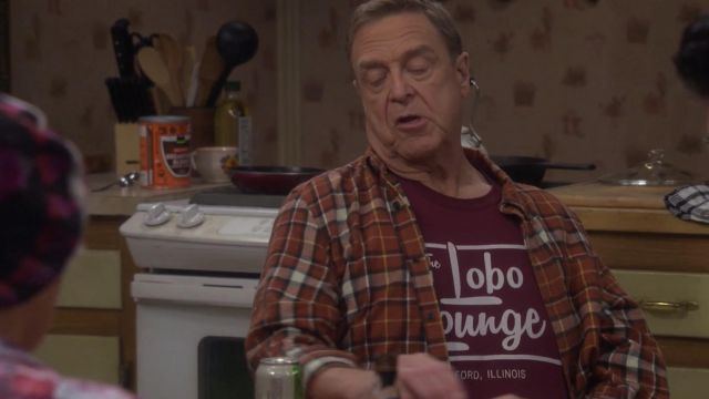 Lobo lounge t-shirt outfit worn by Dan Conner (John Goodman) in The Conners (S02E01) - TV Show Outfits and Products
