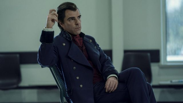 Long Coat outfit worn by Charlie Manx (Zachary Quinto) in NOS4A2 (Season 1) - TV Show Outfits and Products