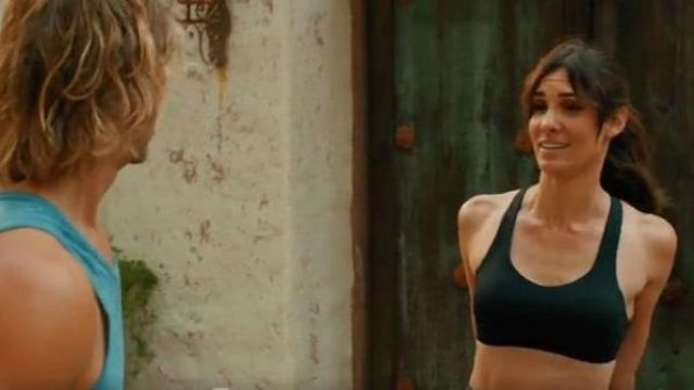 Lululemon Black cross back sports bra outfit worn by Kensi Blye (Daniela Ruah) in NCIS: Los Angeles Season 11 Episode 02 - TV Show Outfits and Products