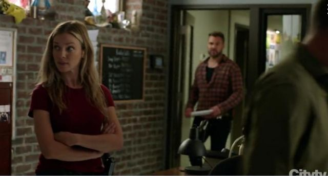 Madewell Northside Vintage T Shirt outfit worn by Hailey Upton (Tracy Spiridakos) in Chicago P.D. Season 7 Episode 3 - TV Show Outfits and Products