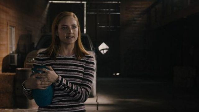 Madewell Smulti Striped Long Sleeve Top outfit worn by Violet Simmons (Haley Ramm) in Light as a Feather Season 02 Episode 16 - TV Show Outfits and Products