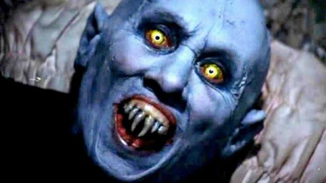 Mask of Mr. Barlow (Reggie Nalder) seen in The Vampires of Salem - TV Show Outfits and Products
