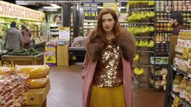Max Mara Nevada Coat outfit worn by Lexi (Anne Hathaway) in Modern Love Season 01 Episode 03 - TV Show Outfits and Products