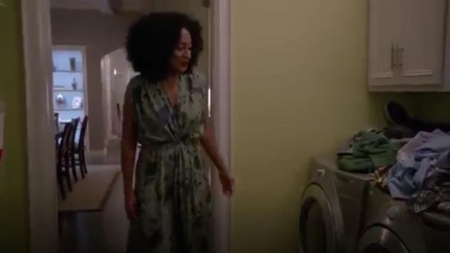 Maxi Dress outfit worn by Rainbow Johnson (Tracee Ellis Ross) in black-ish (Season 01 Episode 02) - TV Show Outfits and Products