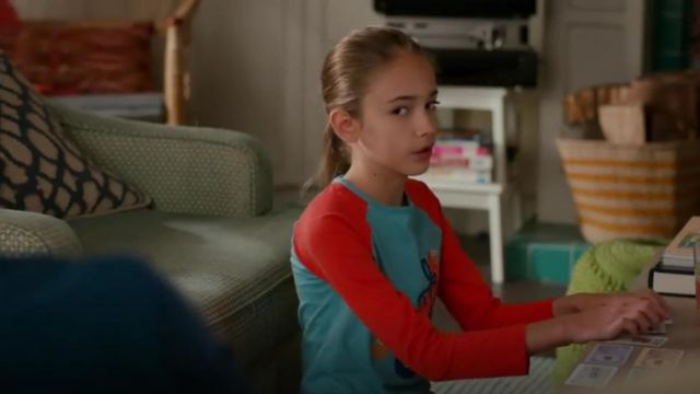 Mini Boden Rollerskate applique raglan outfit worn by Anna-Kat Otto played (Julia Butters) in American Housewife Season 4 Episode 2 - TV Show Outfits and Products